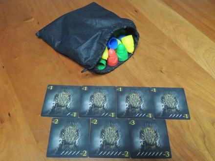 Penguin-bag&ironthronecards.JPG